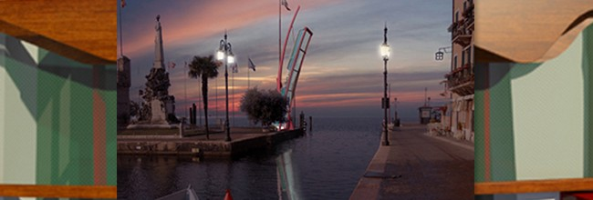 "GmasP got a special mention for the best technical solution in the international contest of ideas for the ""Mobile bridge in the port of Lazise's historical centre. Italy""."