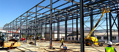 Execution Project of the Industrial buildings in Muro de Alcoy almost finished