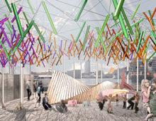Concurso: Pabellón temporal en Barcelona