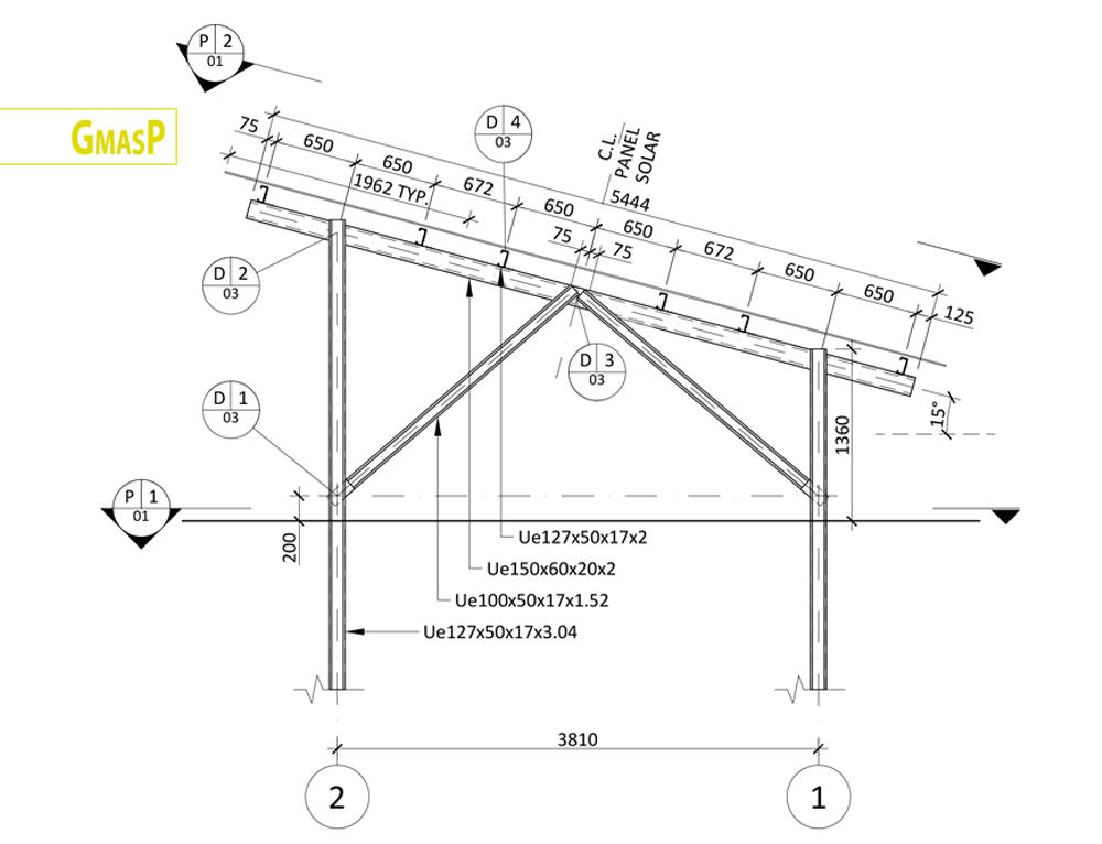 solar panel structure design